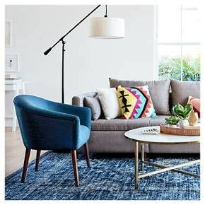 Threshold Barrel Chair Roma Navy by Barrel Chair Target And Colorful Living Rooms On