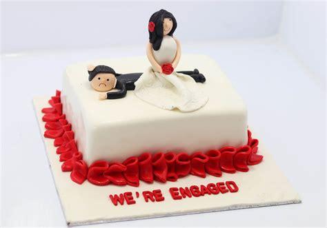 engagement cake  engaged cake  lahore