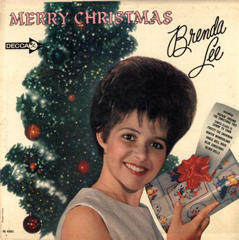 brenda lee christmas song brenda lee merry christmas from brenda lee vinyl lp