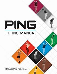 Ping Fitting Manual 2017 By Ping Europe Ltd