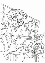 Pages Atlantis Coloring Reading Milo Disney Coloringkidz Thatch sketch template