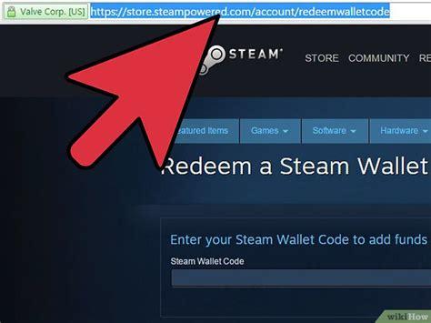 comment utiliser un code de porte monnaie steam