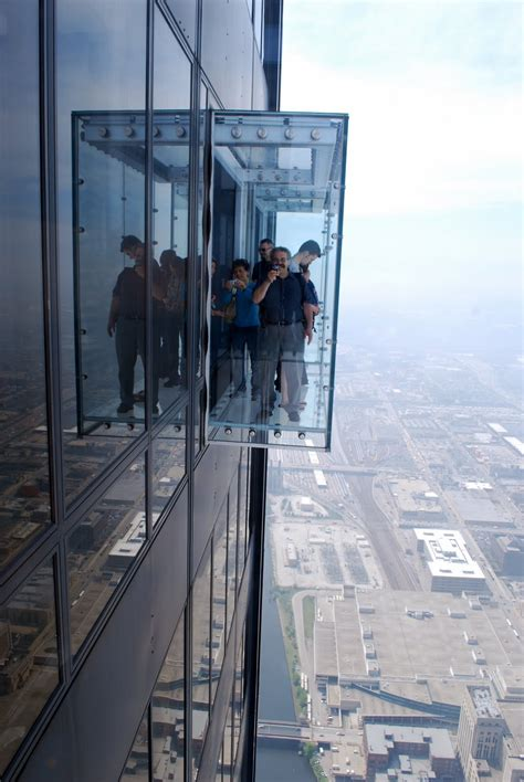 Sears Tower Observation Deck by Mille Fiori Favoriti Above The Clouds In The Willis Tower