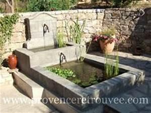 1000 idees sur le theme fontaine en pierre sur pinterest With pont pour bassin de jardin 9 terrasse et jardin en 105 photos fascinantes pour vous