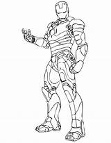 Iron Coloring Popular sketch template