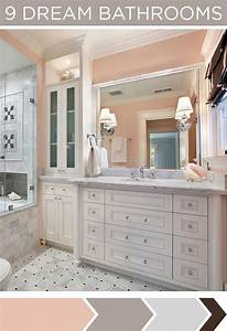 17 best images about hgtv bathrooms on pinterest for Pink and cream bathroom