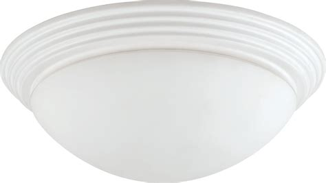 cal la 181s wh white flush mount ceiling light fixture