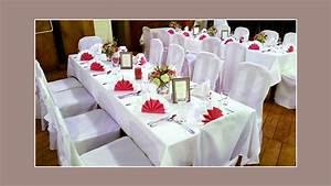 Tischdeko Rot Weiß : stuhlhussenverleih tischdeko hochzeitsdeko ~ Watch28wear.com Haus und Dekorationen
