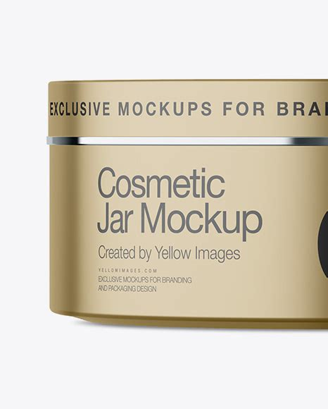 Download this premium psd file about cosmetic metal jar mockups, and discover more than 9 million professional graphic resources on freepik. Matte Metallic Cosmetic Jar Mockup - Front View in Jar ...