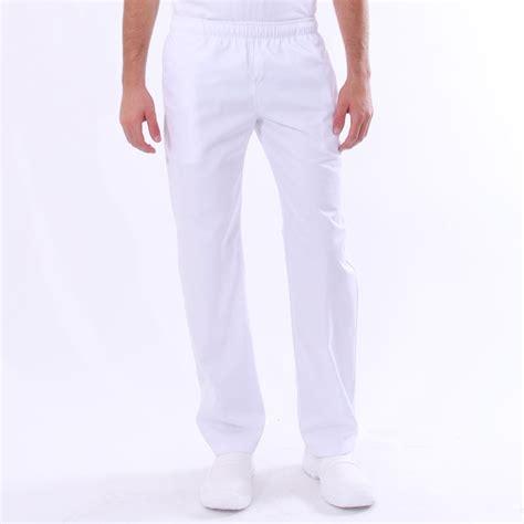 pantalon cuisine pas cher pantalon de cuisine blanc pas cher 100 coton chlorable