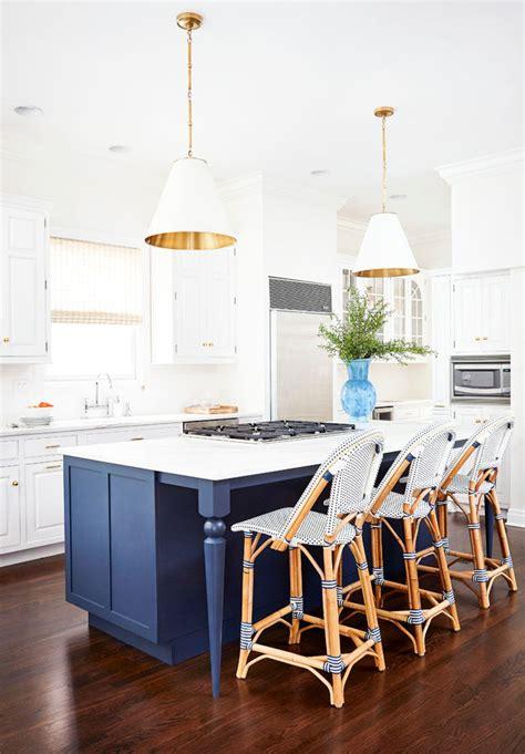 perfect  navy white kitchen hudson reade