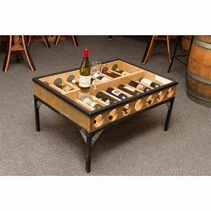 glass top coffee table wine rack napa east wine country With wine storage coffee table