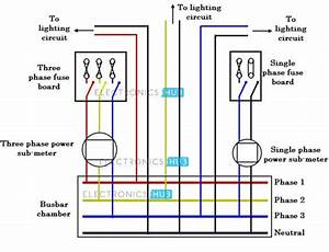 3 Phase 4 Wire Diagram