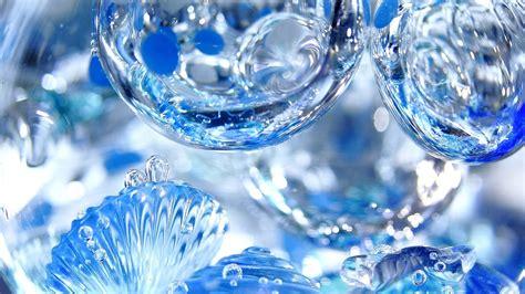 3d Wallpapers Water by 3d Blue Water Drops Hd Wallpaper Wallpaper