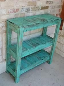 DIY Pallet Potting and Entry Way Table Pallet Furniture DIY