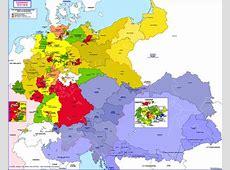 Hisatlas Map of Germany 18151818
