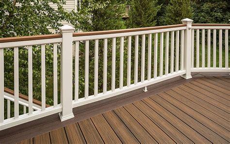 maintenance trex railing poco building supplies