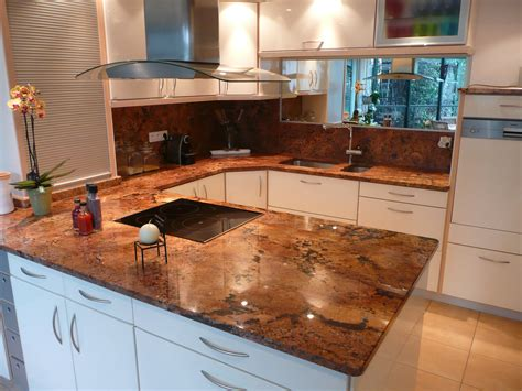 cuisine en granit plan de cuisine en granit juparana florida azur
