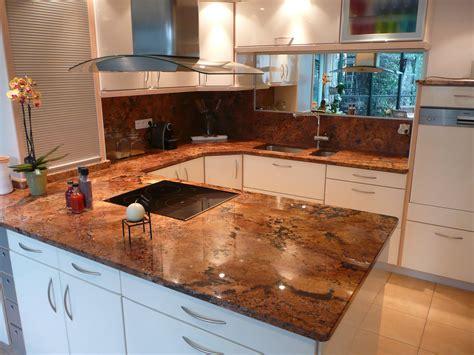 plan de cuisine en granit juparana florida france azur