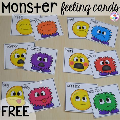 free feeling cards amp for preschool pre k 783 | Slide2 2