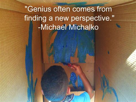 Genius Often Comes From Finding A New Perspective