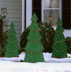 Holiday Tree Yard Decor at The Home Depot