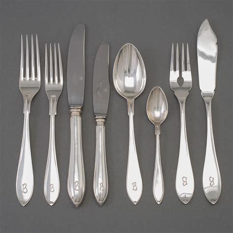 swedish flatware silver gab maker stockholm piece mark 1930s service