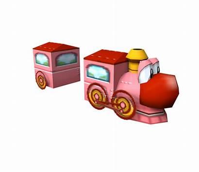 Models Resource Gamecube Mario Kart Train Yoshi