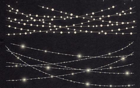 String Lights Clipart by String Lights Clip By Lun Design Bundles
