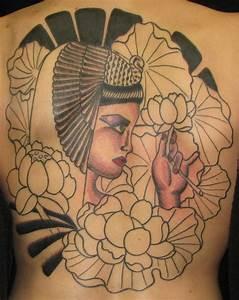 Cleopatra Tattoos - Inspiring Tattoos