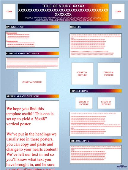 research poster templates flyers templates scientific