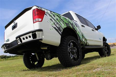 shop nissan titan rear dimple  bumper  add