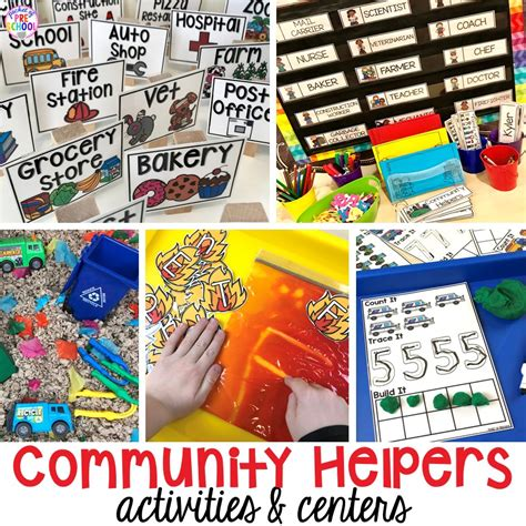 community helpers activities and centers for preschool and 296 | Slide1 3