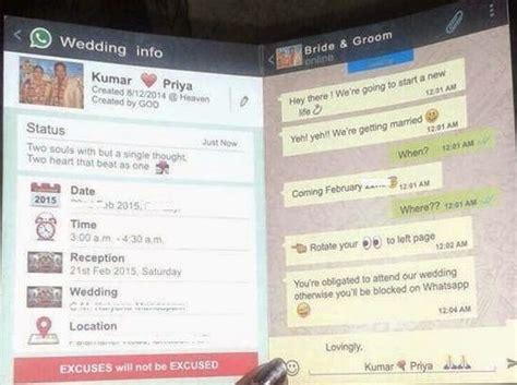 whatsapp wedding card whatsapp messages status dp