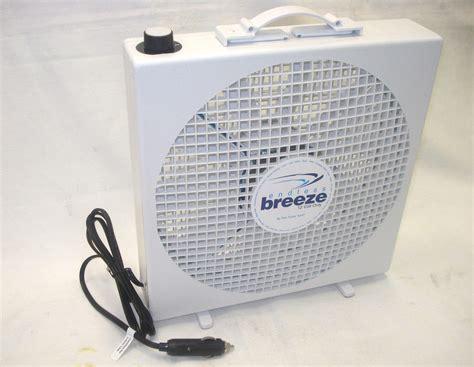 12 volt fans for horse trailer 12v fantastic endless breeze 30cm box fan t s caravan