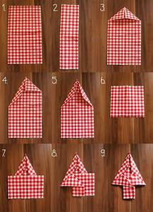 Servietten Weihnachtlich Falten : 1000 ideas about servietten falten weihnachten on pinterest folding napkins napkins and ~ Udekor.club Haus und Dekorationen