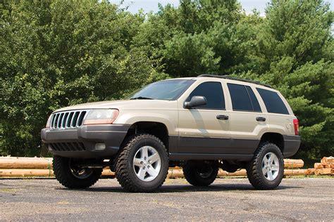 jeep grand wj zone offroad products 4 quot lift kit for 99 04 jeep grand wj quadratec