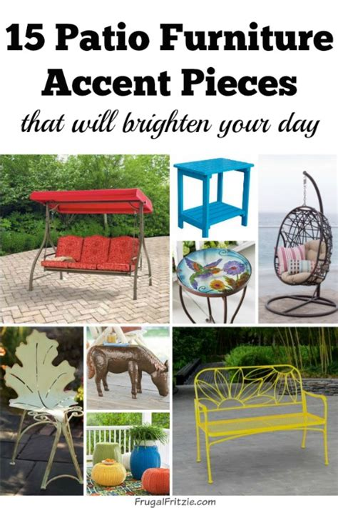 15 patio furniture accent pieces that will brighten your day
