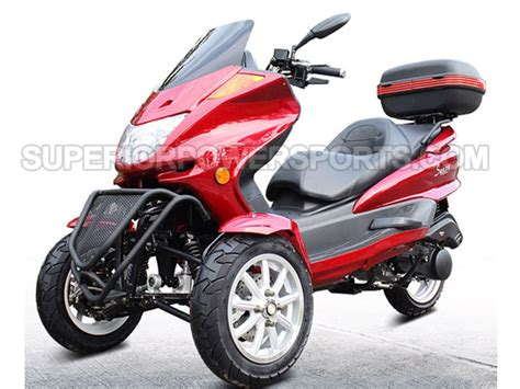 150cc Gas 3 Wheeler Trike Scooter