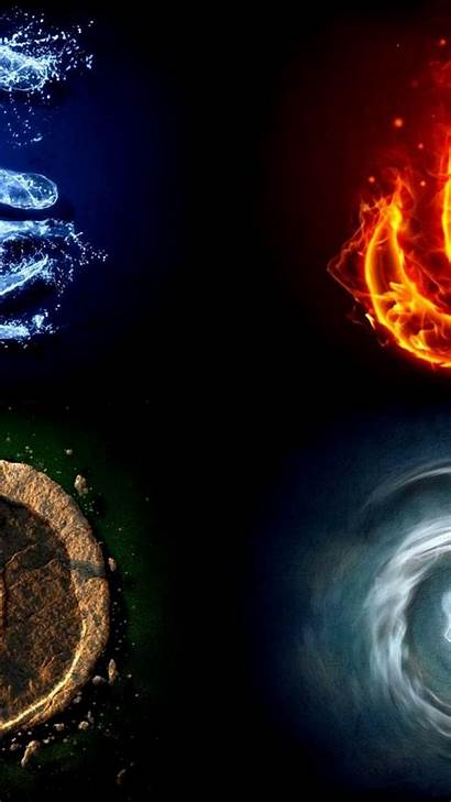 Elements Avatar Airbender Last Symbol Four Wallpapers