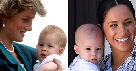 Come on this journey with us. Baby Archie looks like the spitting image of Prince Harry ...