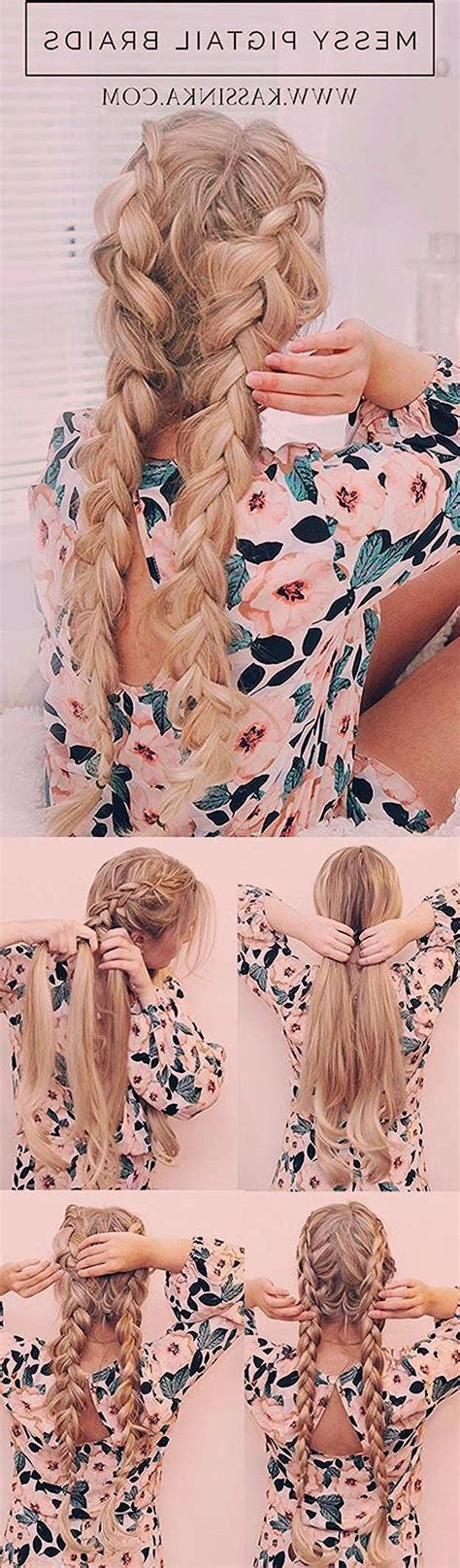Fast #and #easy #hairstyles #for #school: #Festival#easy