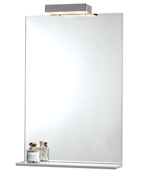 Bathroom Mirror With Shelf And Light by Bathroom Lights Endon El Kornati Bathroom Mirror With