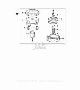 Echo Srm-225 S  N  S89312001001 - S89312999999 Parts Diagram For Trimmer Head