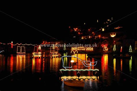 mousehole harbour lights christmas 2008