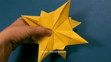 sterne falten aus papier sterne basteln weihnachtssterne basteln aus papier