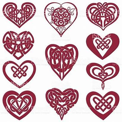 Celtic Knot Heart Hearts Vector Clipart Tattoos