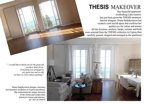 thesis furniture showrooms cyprus projects