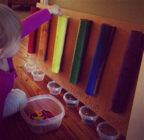 ornaments for two year olds to make learning activity for 2 year color teaching