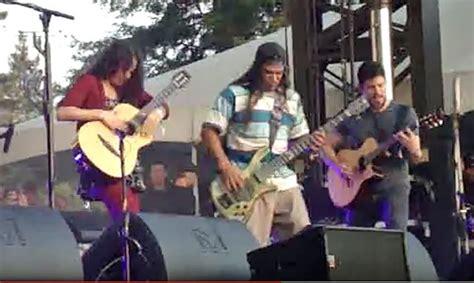 Metallica's Robert Trujillo Performs With Rodrigo Y
